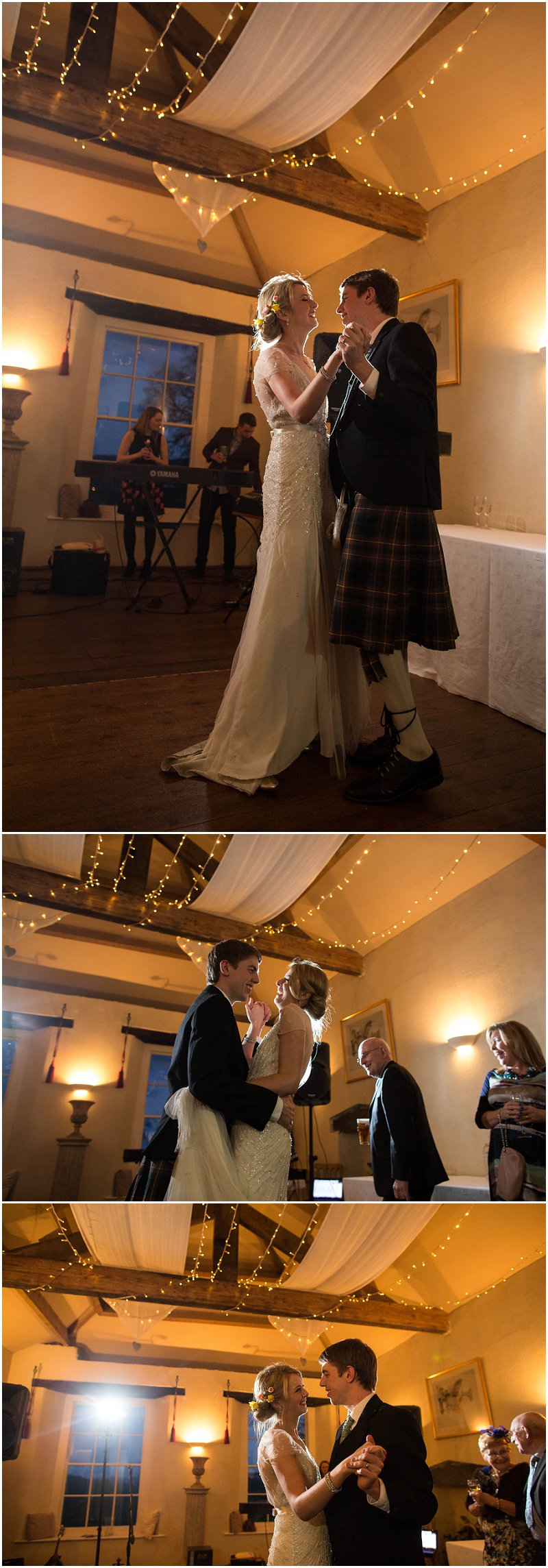 First Dance at Belmount Hall Cumbria