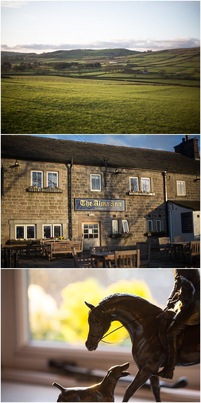 The Alma Inn Wedding Photography Lancashire