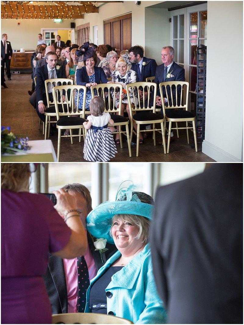 Guests at Wedding at The Alma Inn Lancashire Yorkshire