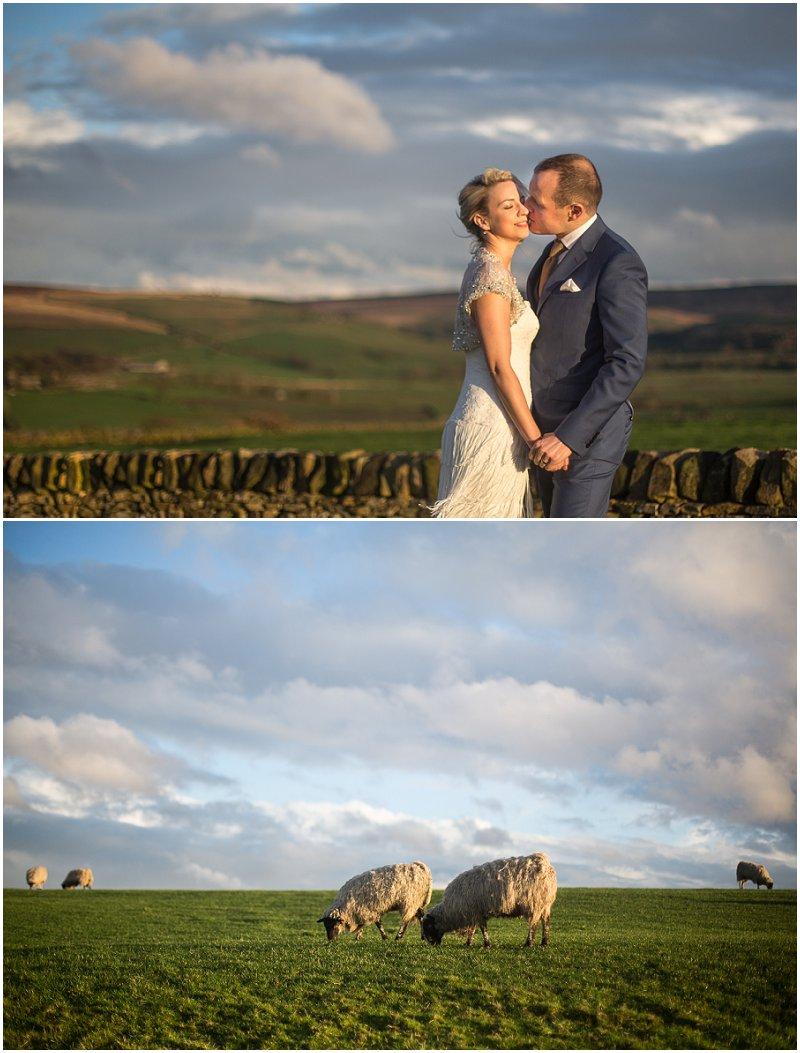 Golden Hour at The Alma Inn Wedding Photography Lancashire