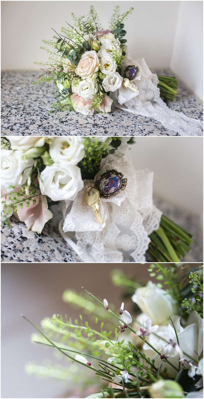 Beautiful Wedding Bouquet Stanley House Photography