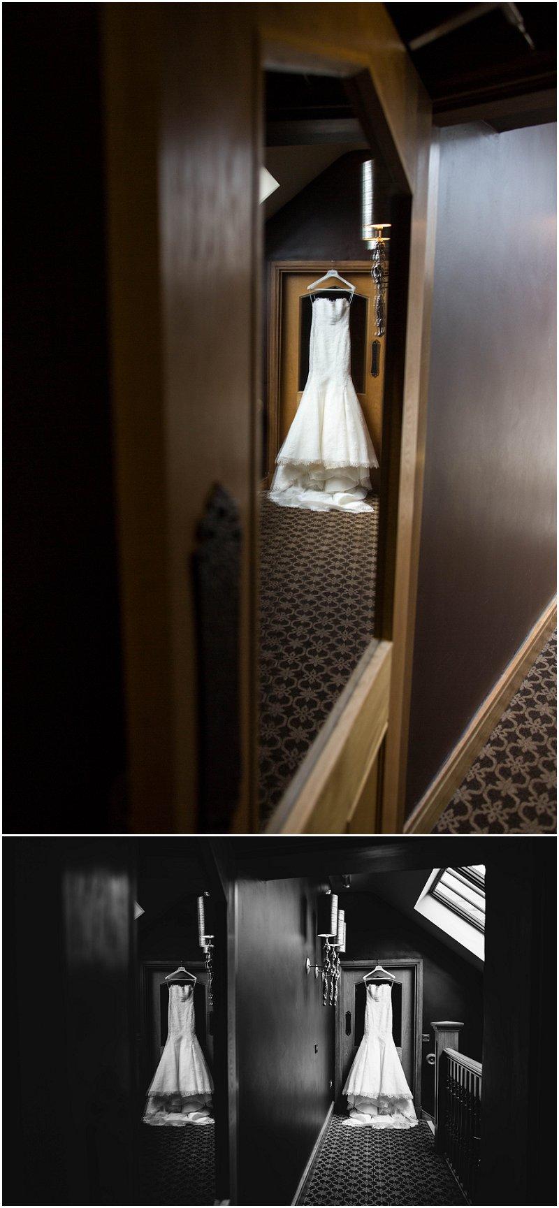 Beautiful Wedding Dress Stanley House Wedding Photographer