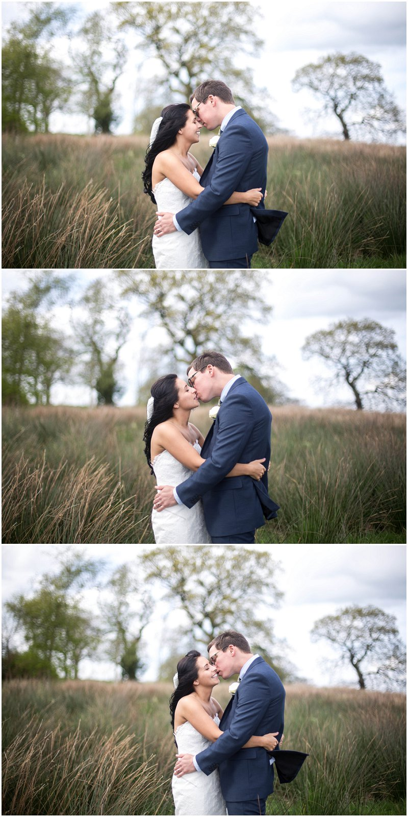 Beautiful bride and groom portraits at Stanley House, Lancashire Wedding photography