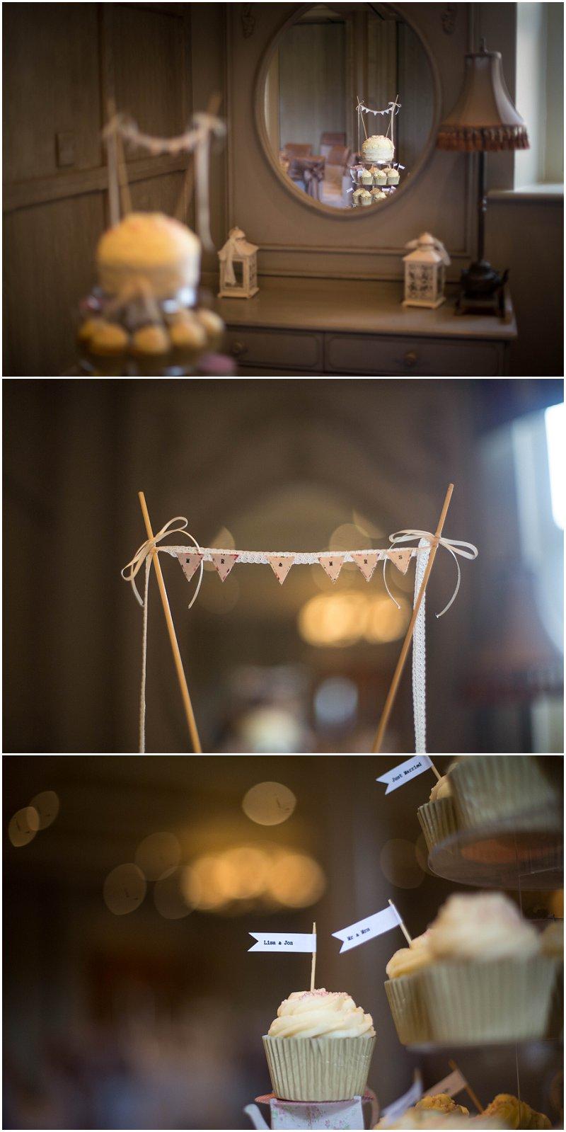 Cupcake wedding cake Photography