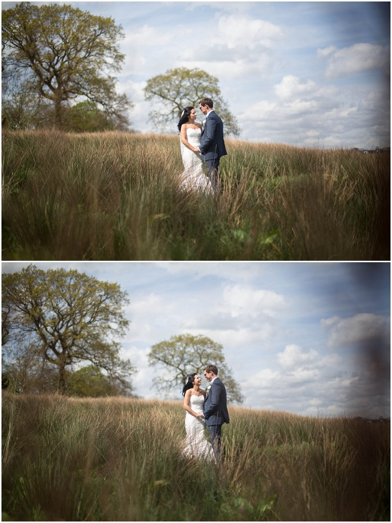 Field at Stanley House Mellor Wedding Photographer