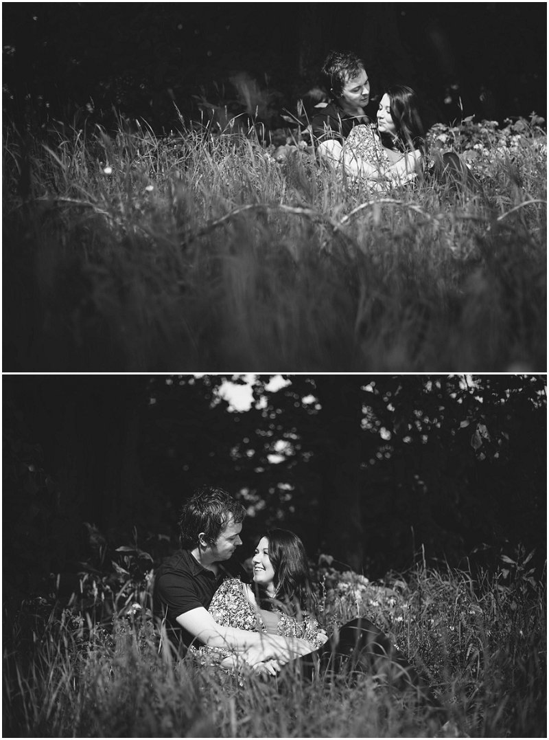 Beautiful Couple during Pre Wedding Shoot Cumbria