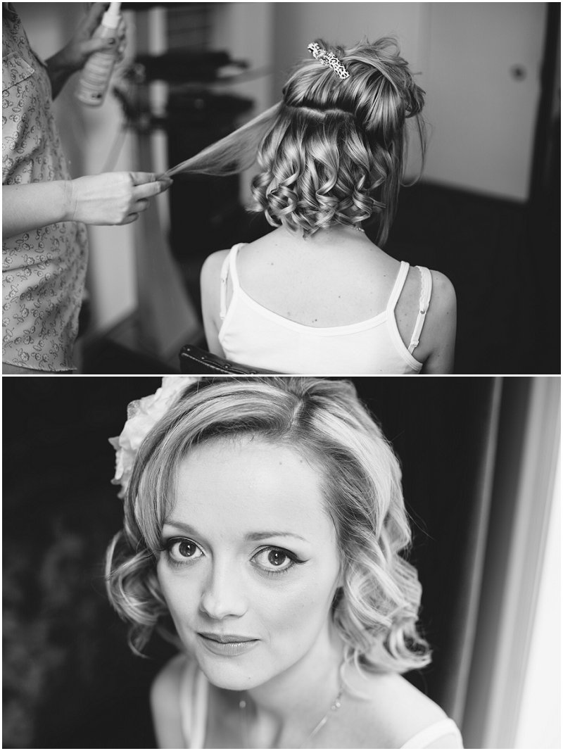 Bride prep wedding photography Standish