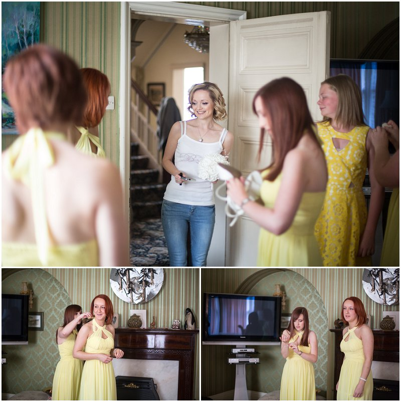 Beautiful Bridemaids Standish Wedding Photographer