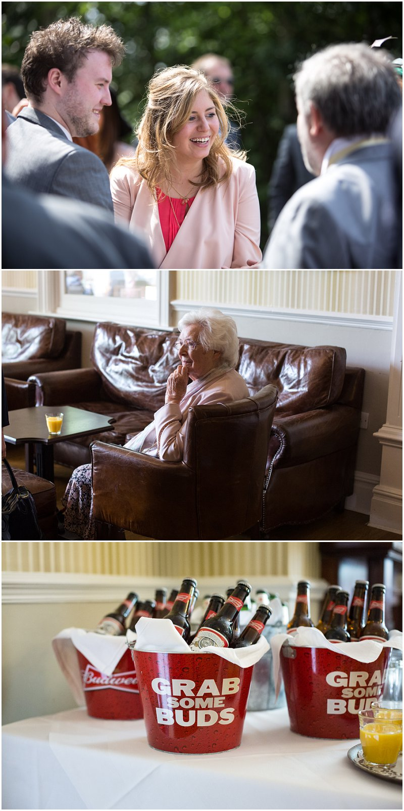 Wedding guests enjoying themselves at Ashfield House Wedding Photography