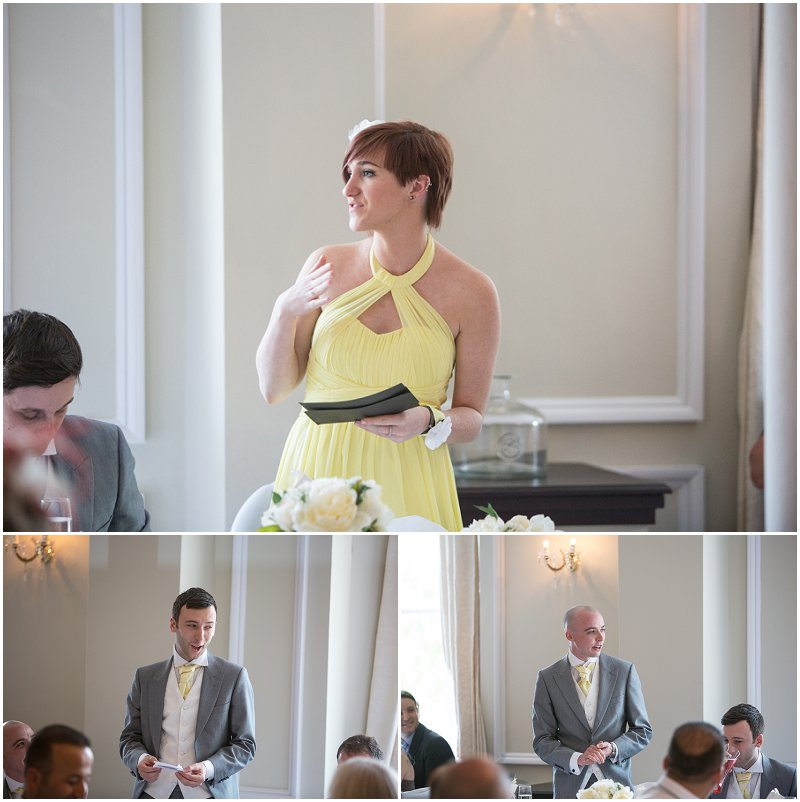 Speeches at Ashfield House Standish Wedding photographer