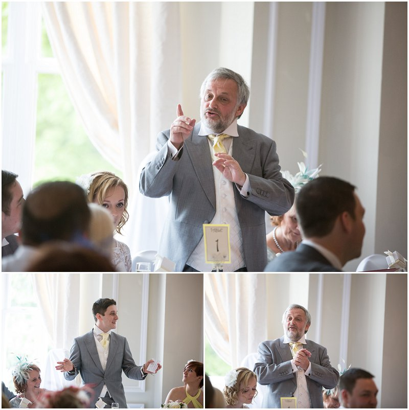 Father of the Bride speech at Ashfield House