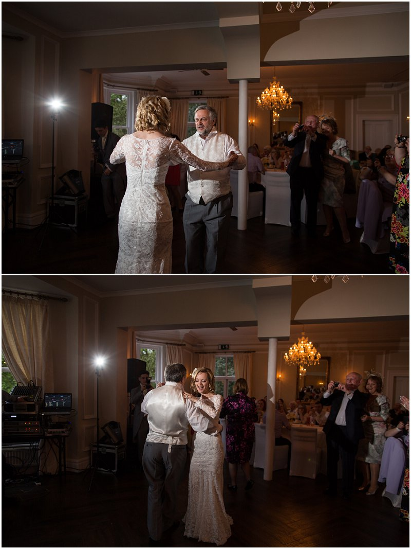 Father of the Bride dance at Ashfield House, Wigan