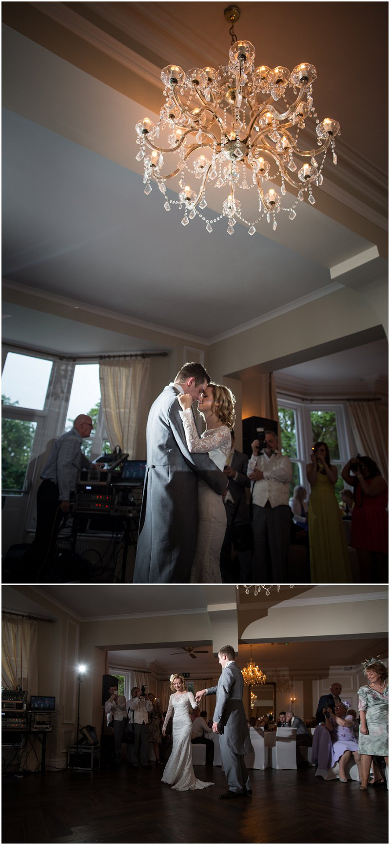 First Dance at Ashfield House Wedding Photographer Wigan