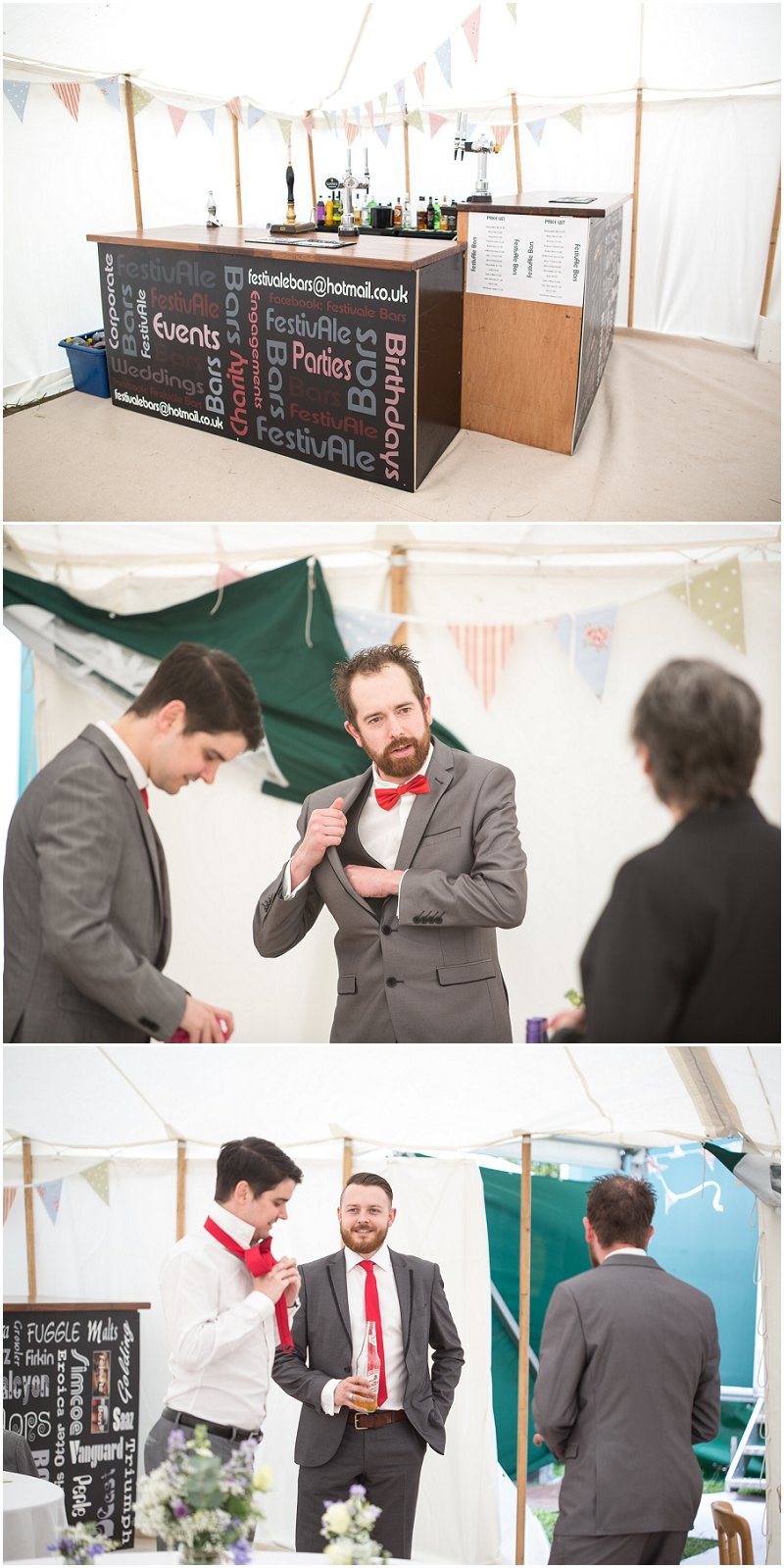 Marquee Bar at Wedding | Photography Lancashire