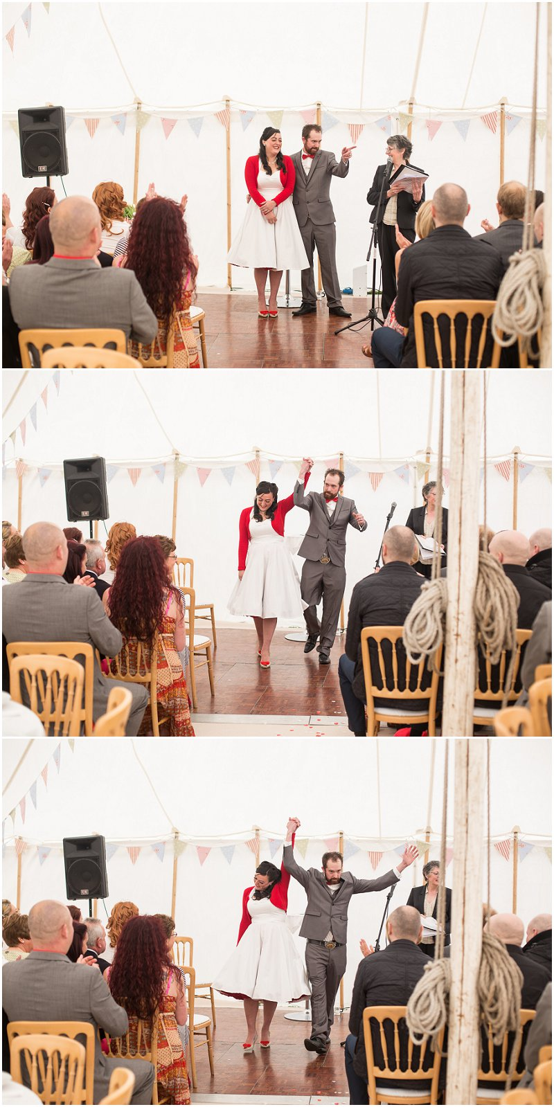 Rock and Roll Wedding Marquee Photography
