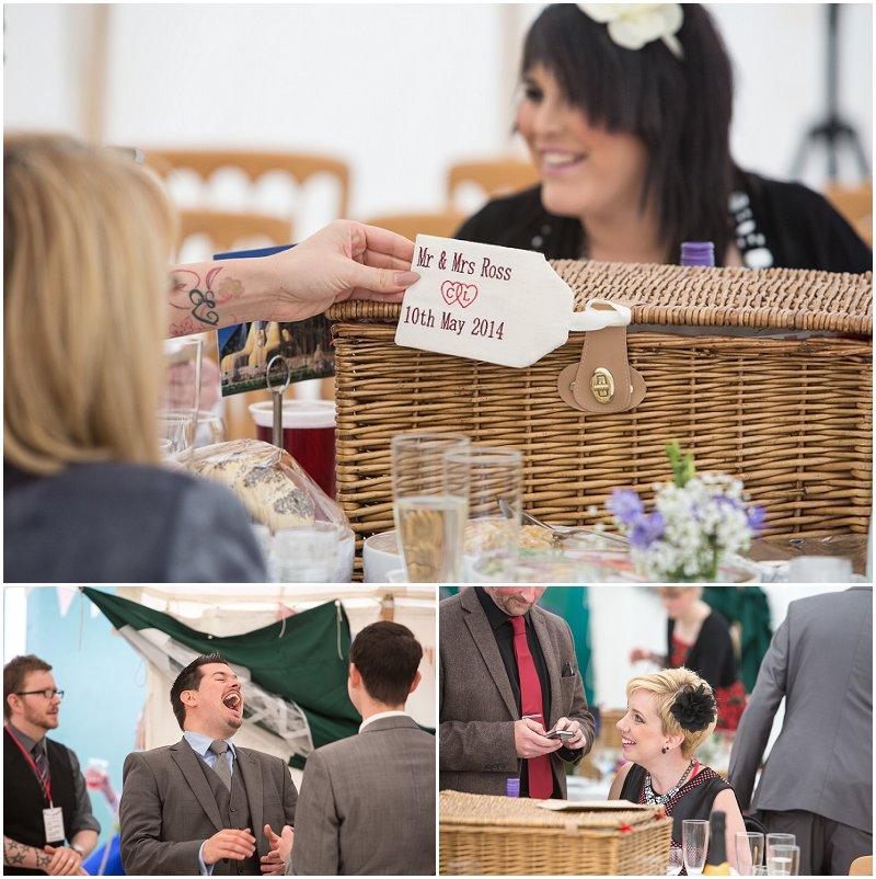 Marquee Wedding Photography Lancashire
