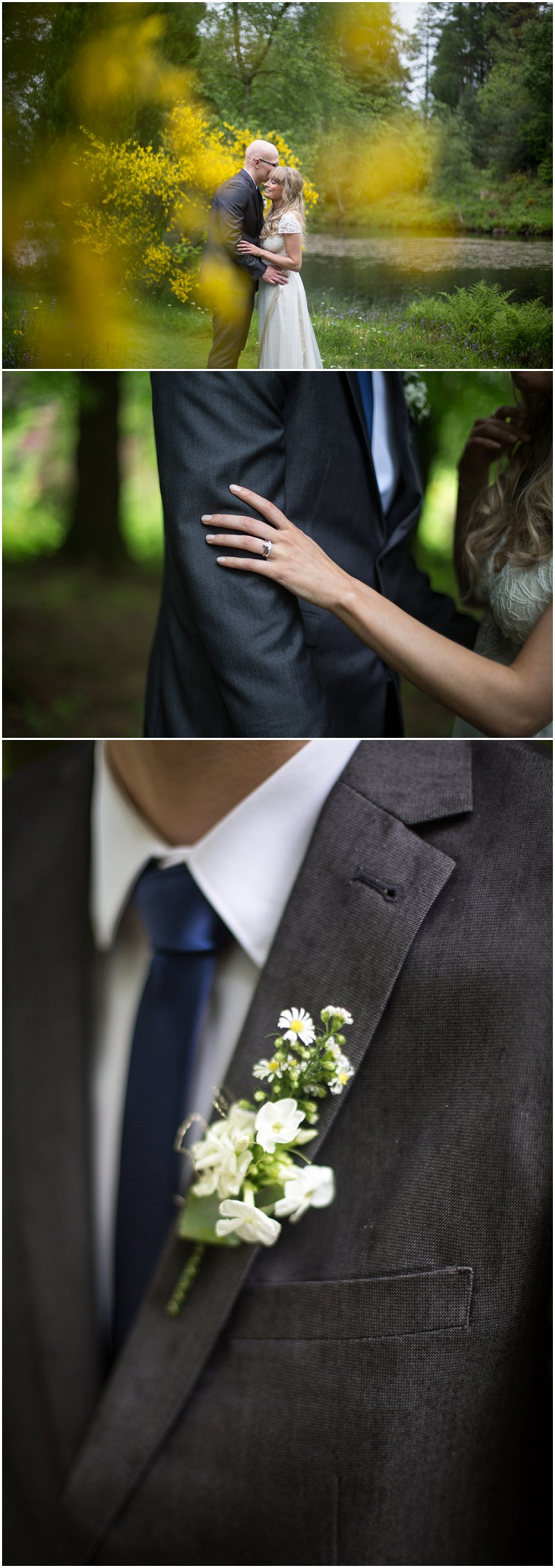 Beautiful Wedding Photography at Linthwaite House Hotel Cumbria
