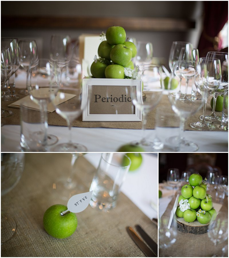 Apple Vintage Themed wedding at Linthwaite House Hotel
