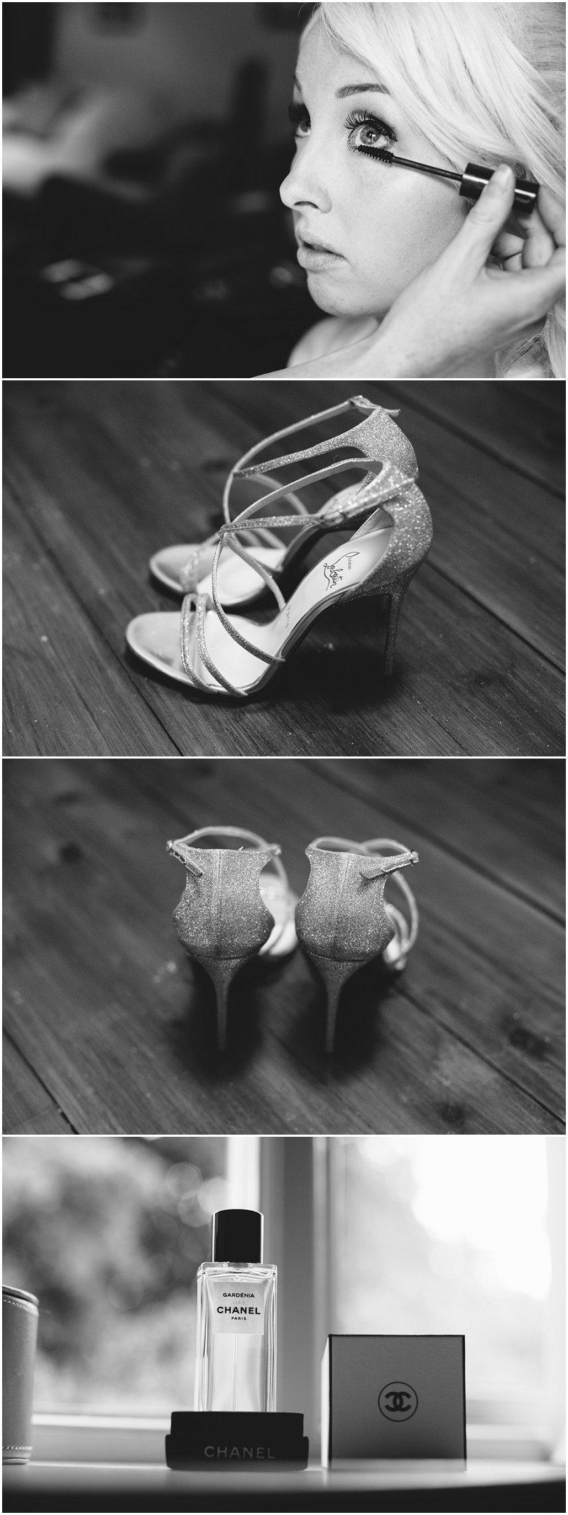 Eaves Hall Wedding Photography bride make-up photography