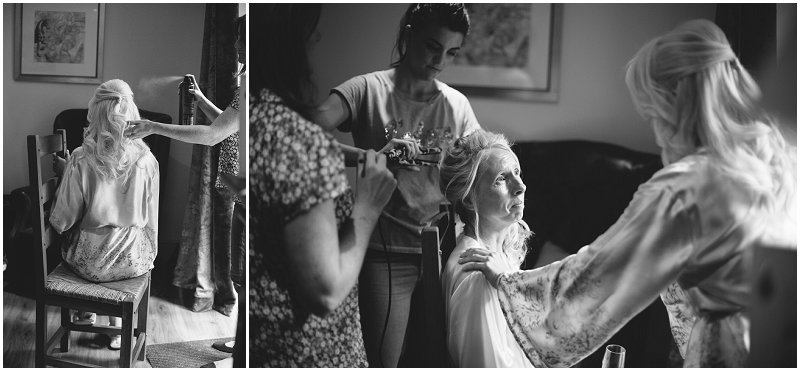 Mother of bride gets emotional Lancashire Wedding Photography