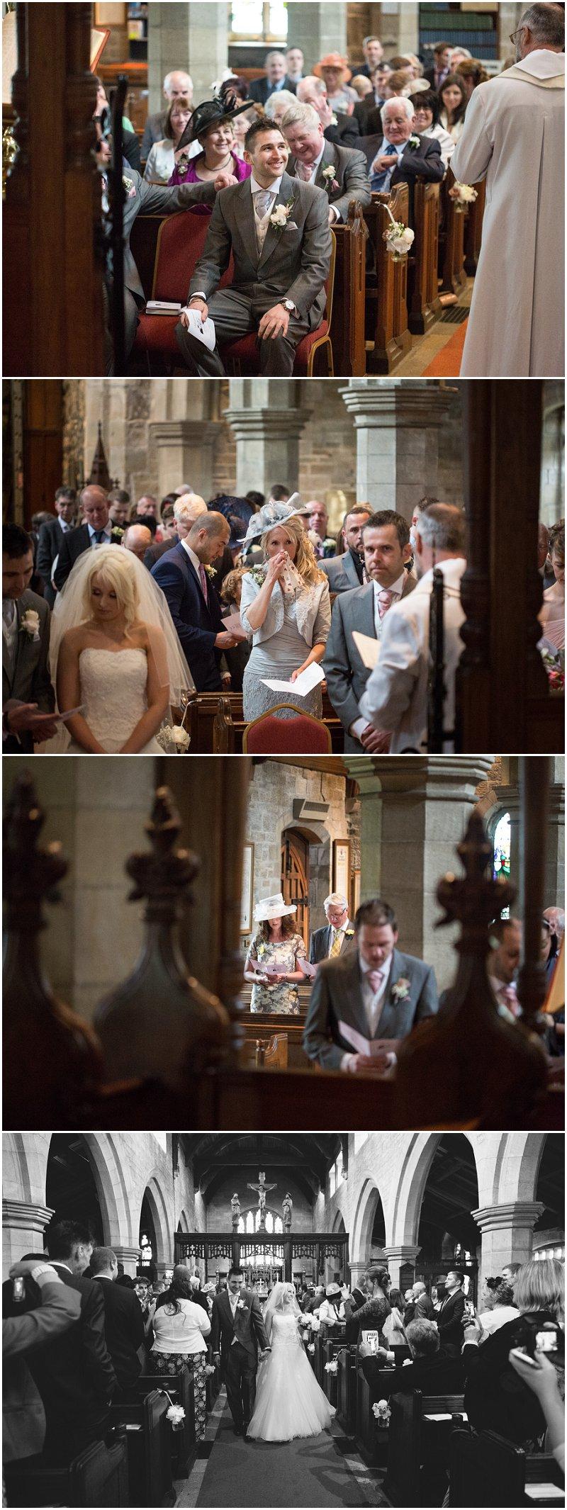 Church ceremony Clitheroe Wedding Photography