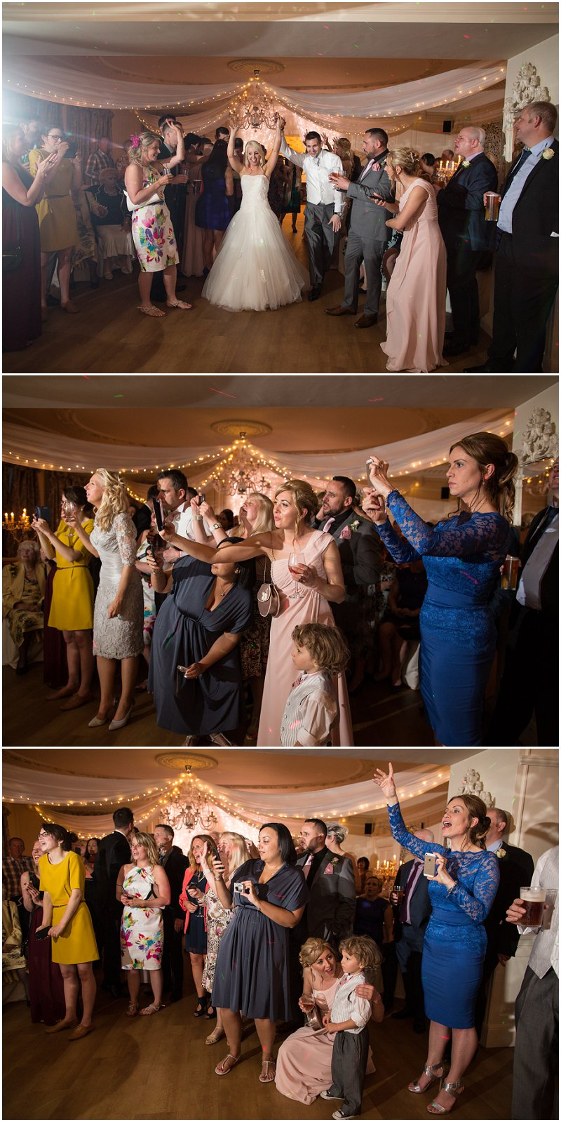 Beautiful First dance at Eaves Hall, Lancashire Wedding Photography