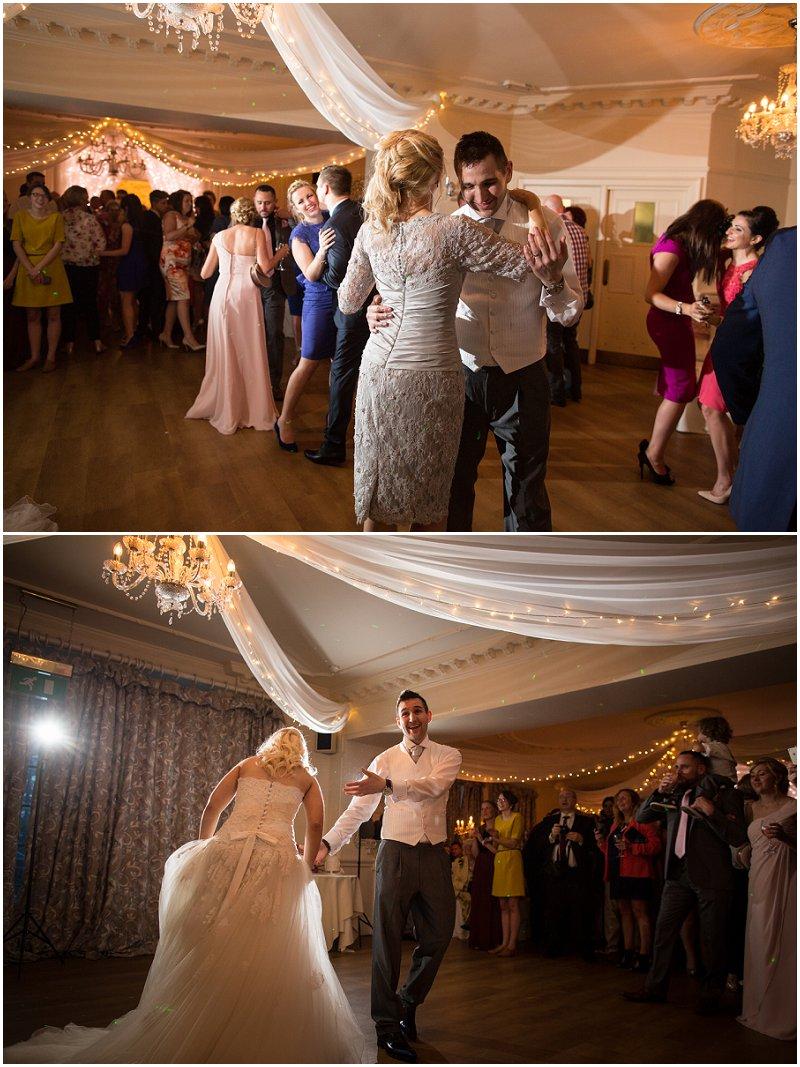 Dancing at Eaves Hall, Lancashire Wedding photography