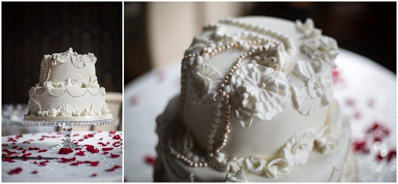 30's Style Cake Wedding Photography Soughton Hall