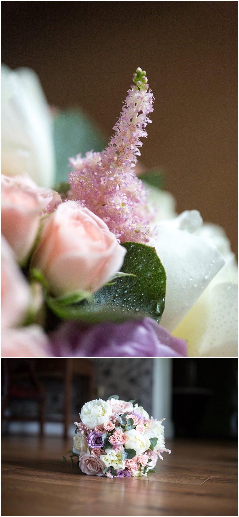 Beautiful Wedding flowers at West Tower, Lancashire Wedding Photography