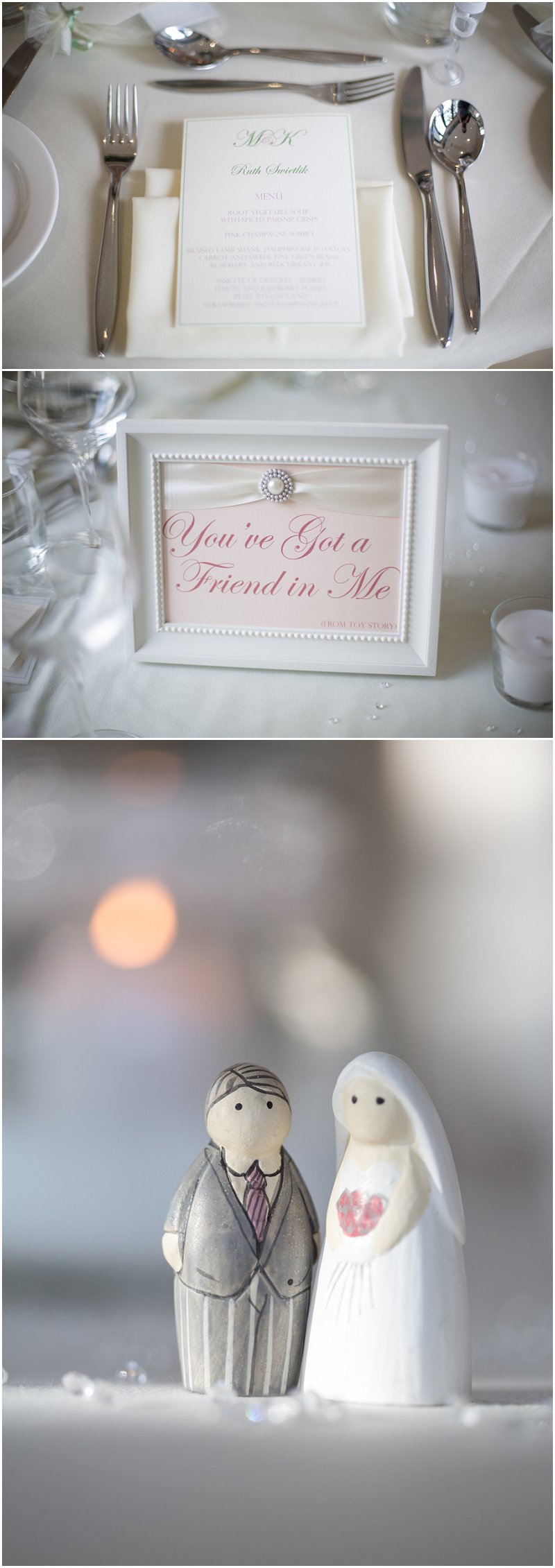 Room details during wedding at West Tower Photography