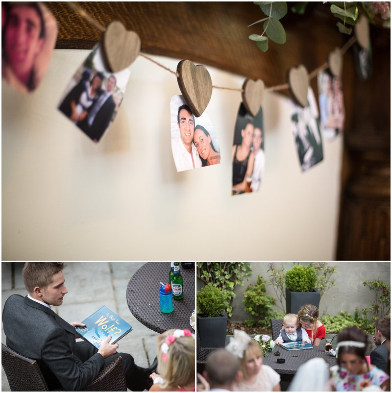 Guests enjoying themselves at West Tower wedding venue wedding