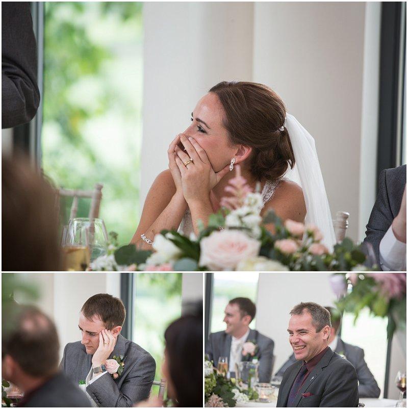 Speeches wedding photography Lancashire West Tower