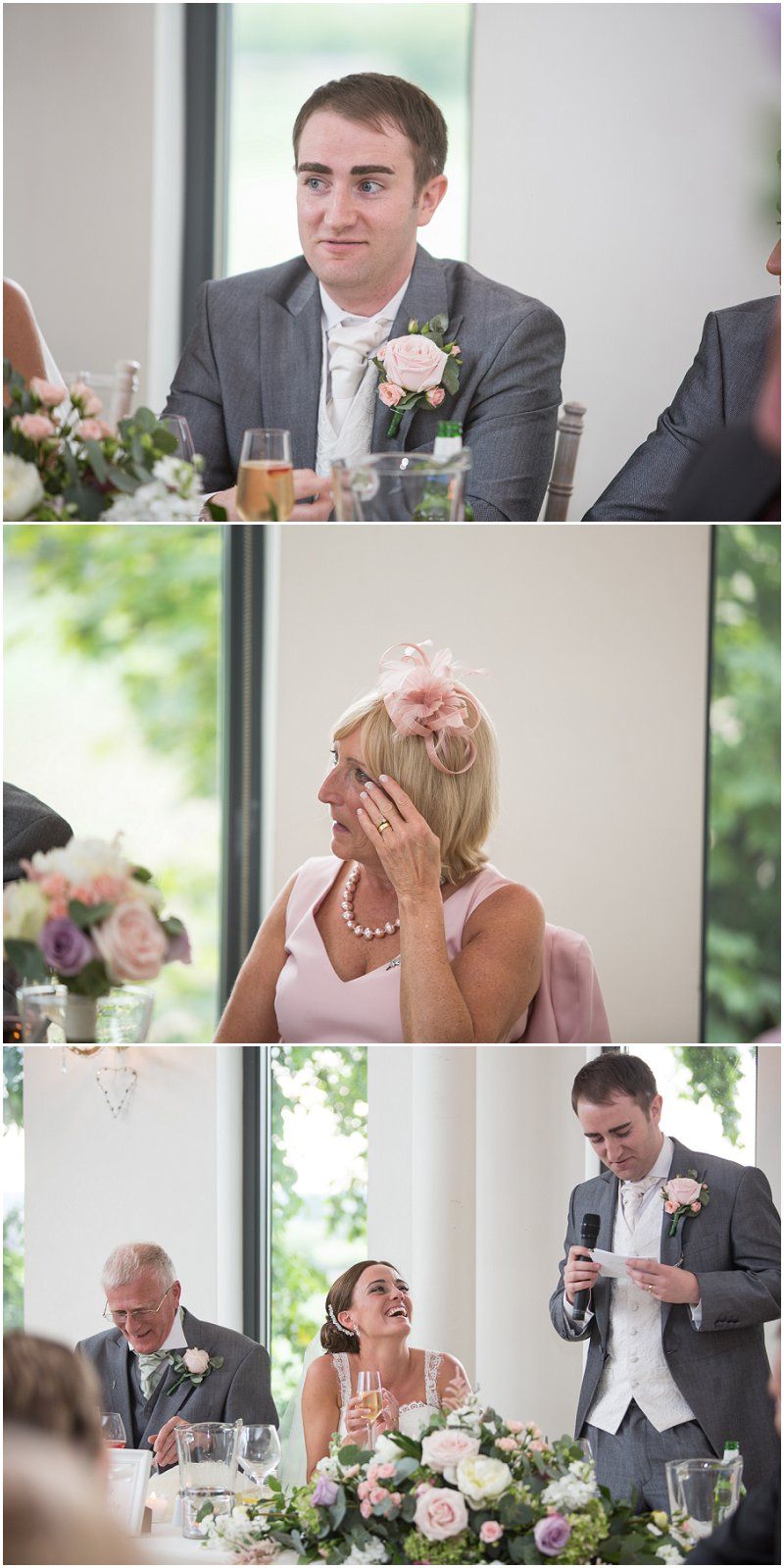 Speeches and groom's speech