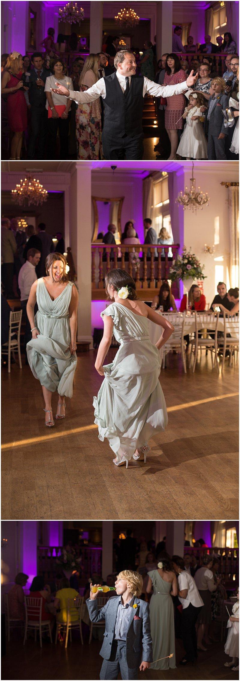 Evening dancing at West Tower Wedding Venue   Lancashire Wedding Photography