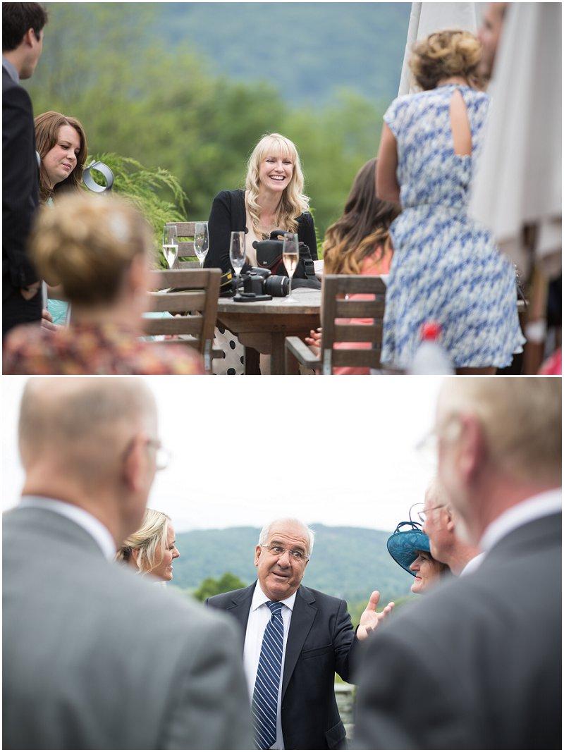 Documentary Wedding Photographer Cumbria Linthwaite House Hotel