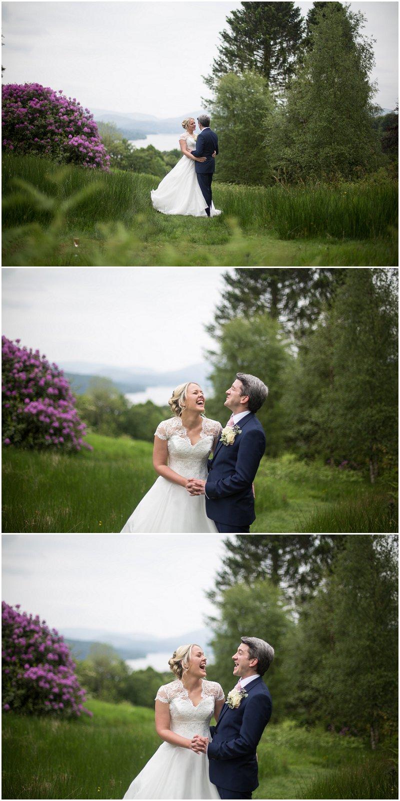 Beautiful portraits at Linthwaite House Wedding Photography