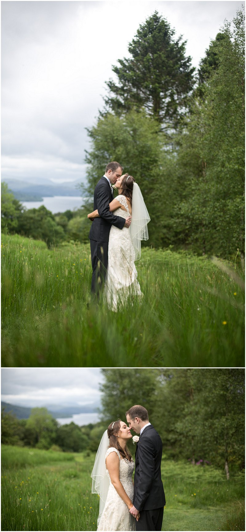 Beautiful Bride and Groom portraits Wedding Cumbria