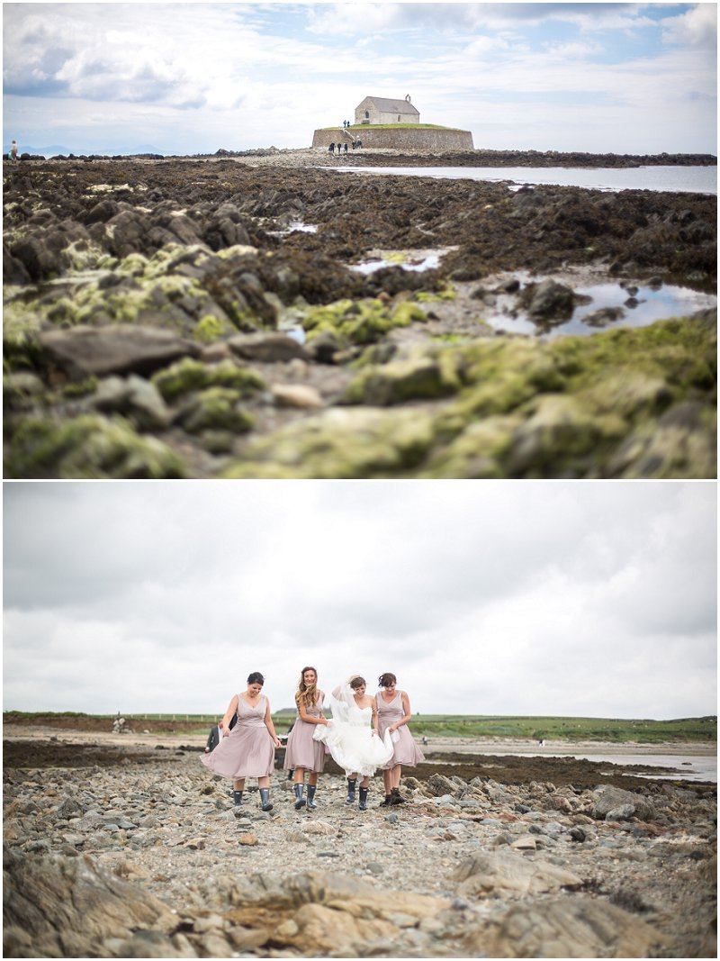 Church on the Sea wedding photography Anglesey