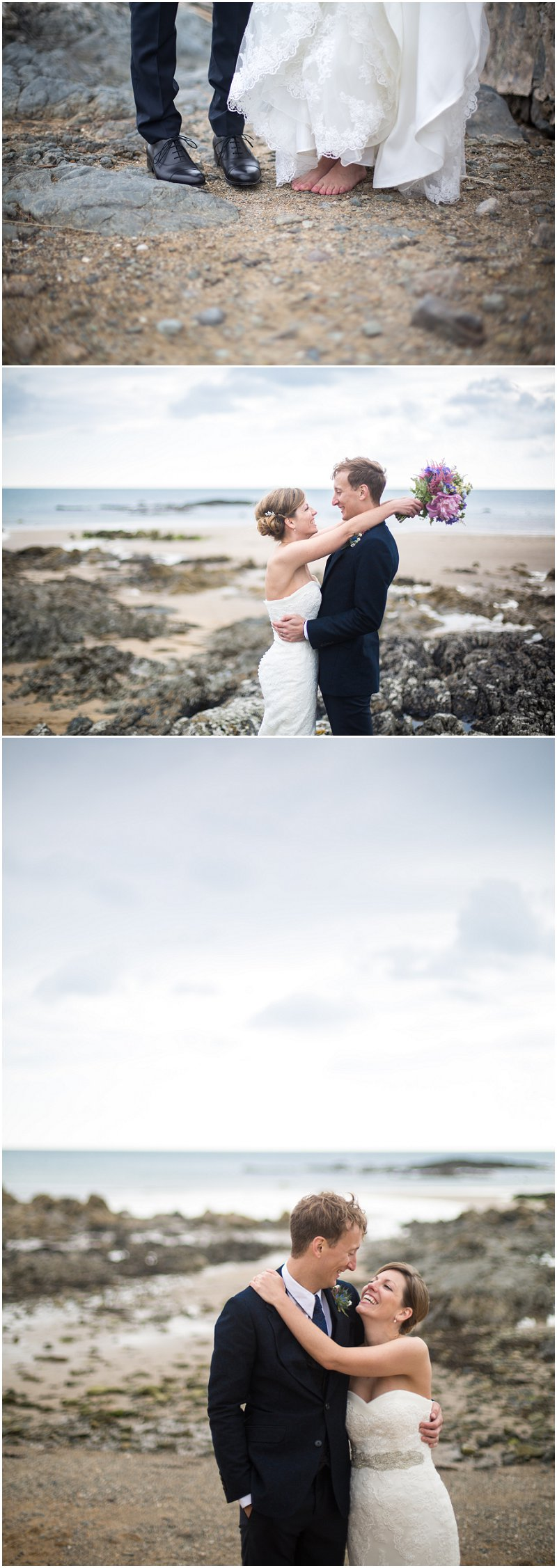 Beach Wedding Photography Anglesey Wales Wedding Photographer