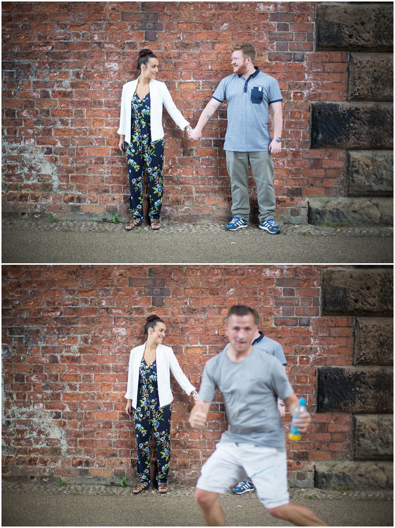 Railway Bride Engagement Shoot | Preston Award Winning Photographer