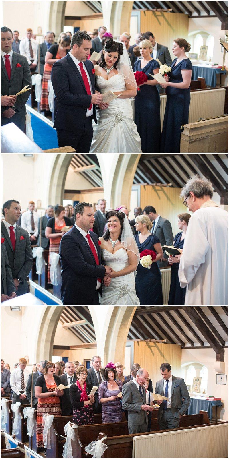 Beautiful wedding ceremony Cheshire