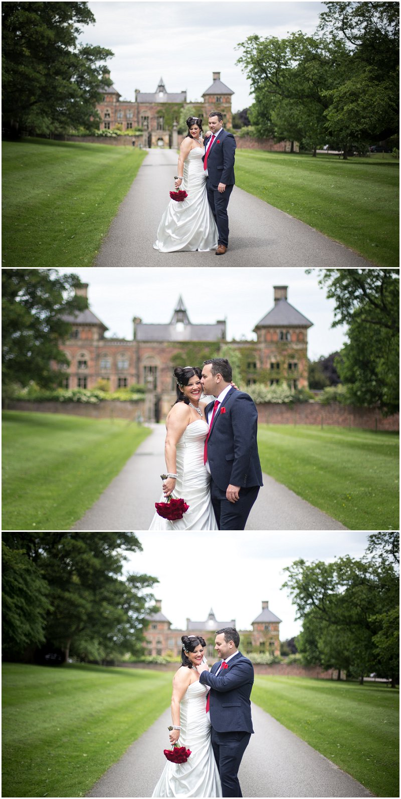 Beautiful Soughton Hall Wedding Photography