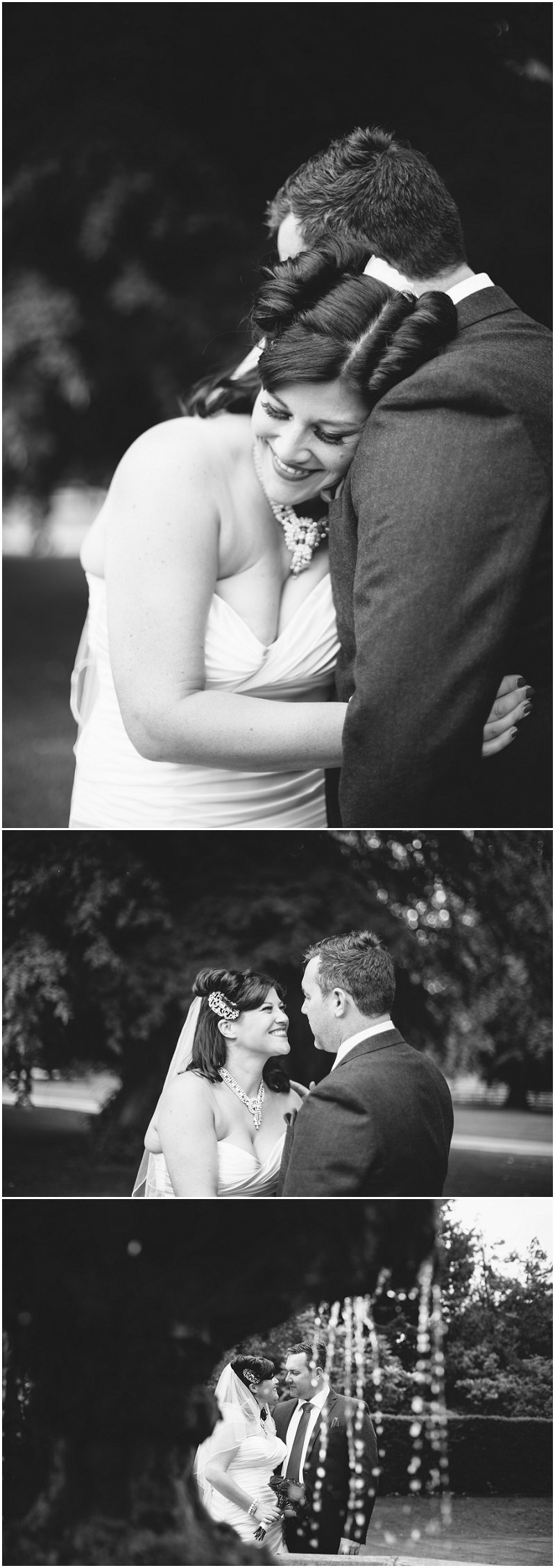 Couples portraits during wedding at Soughton Hall Cheshire