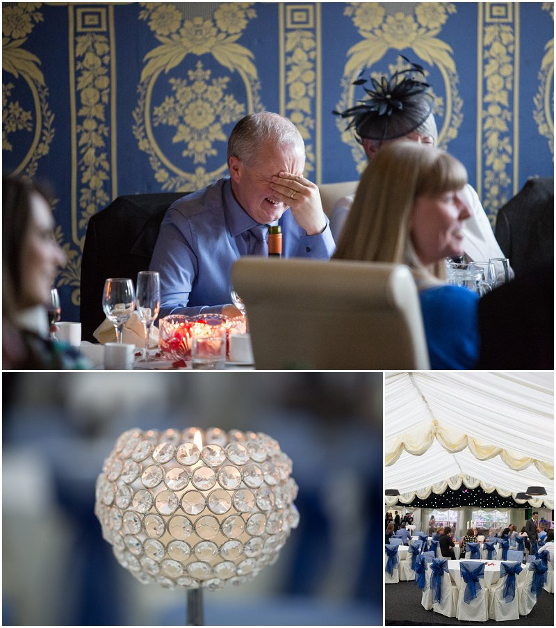 Funny guests reactions to speeches at Soughton Hall
