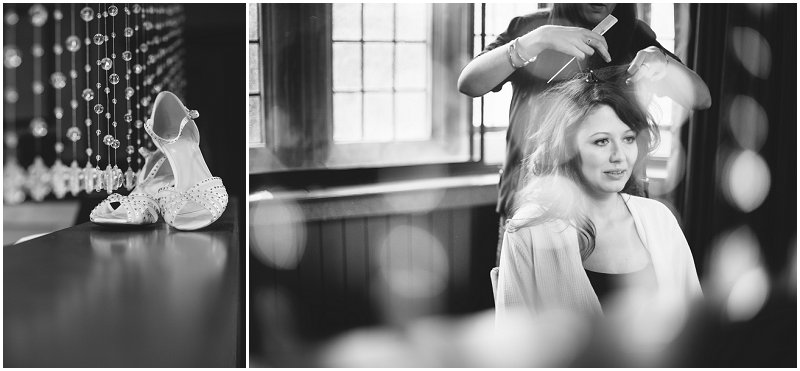 Beautiful bridal prep photography Cumbria