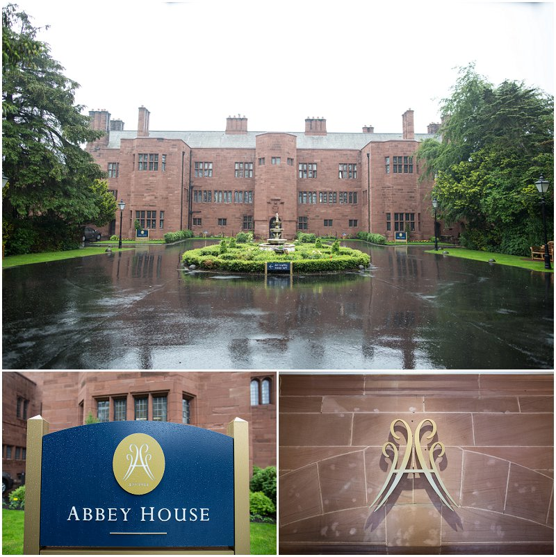 Abbey House Hotel Cumbria Wedding Photographer