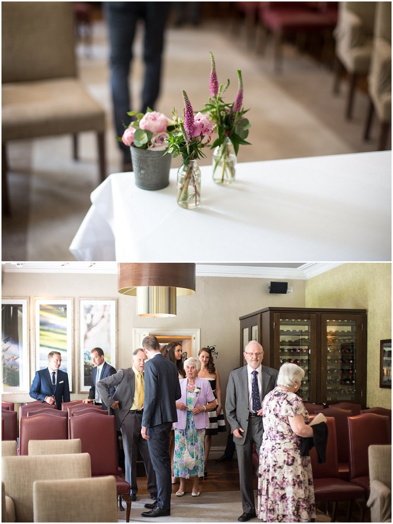 Linthwaite House Hotel Wedding Ceremony Cumbria