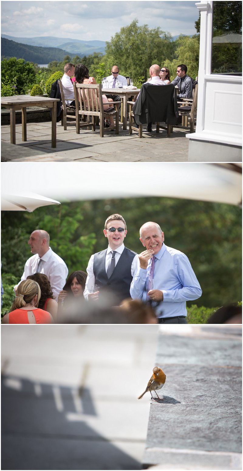 A wedding at Linthwaite House Grounds Windermere Photographer