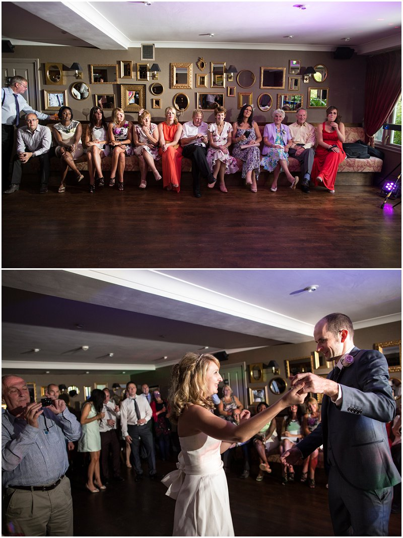 First Dance at Linthwaite House Hotel Wedding