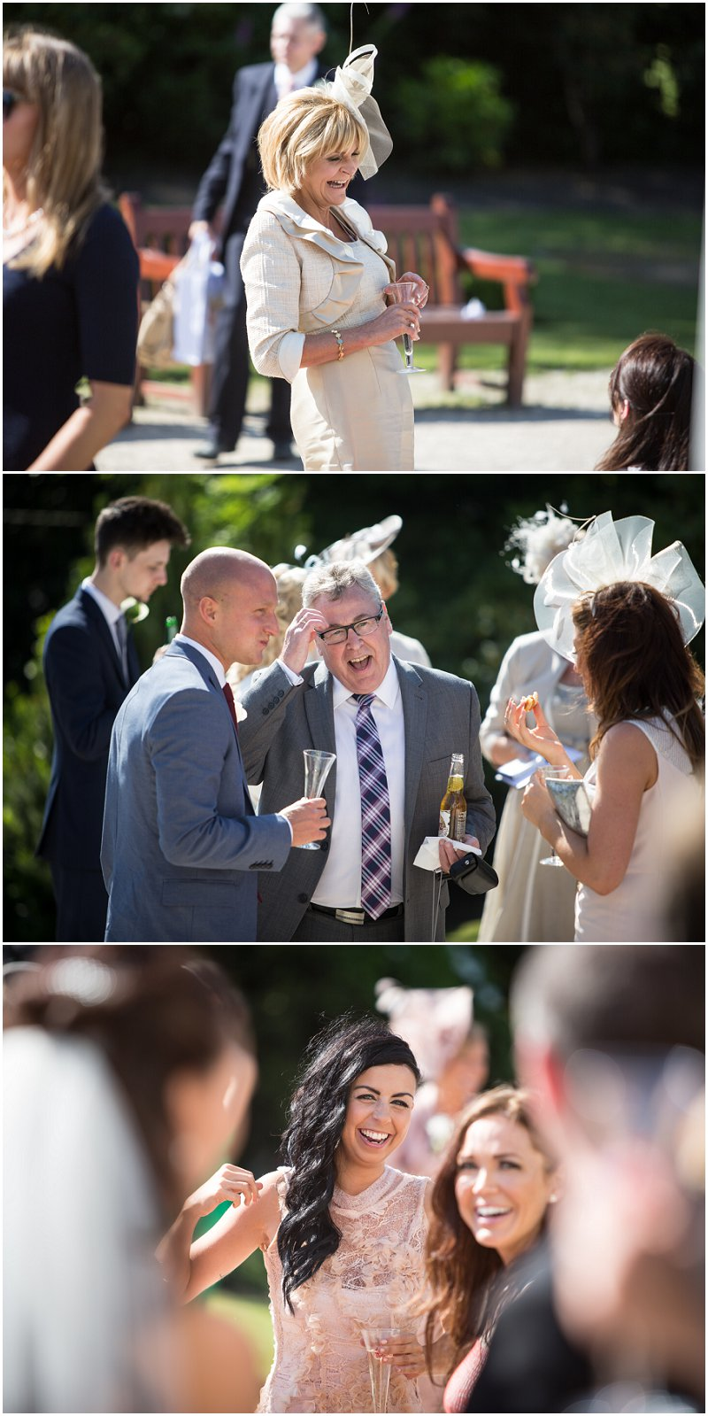Guests enjoy themselves at Sefton Palm HOuse Wedding